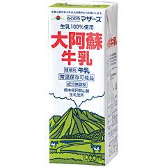 らくのうマザーズ 大阿蘇牛乳LL 紙パック (1000mlx6本)